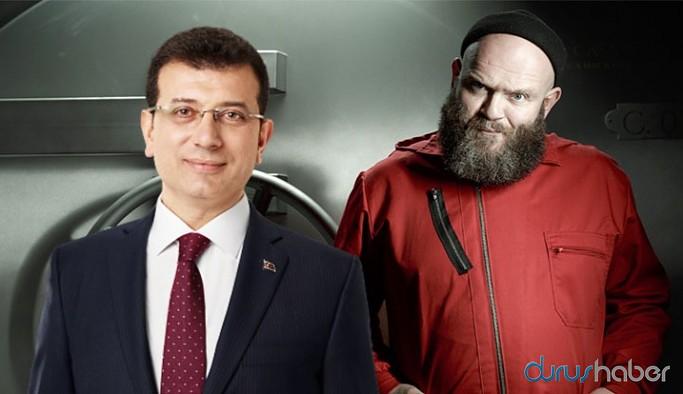 La Casa De Papel oyuncusu 'Helsinki', 'İstanbul' dedi, İmamoğlu hak verdi
