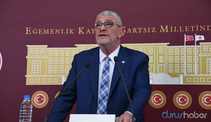 İYİ Parti'li Dervişoğlu: İktidarın devlet aklı ve terbiyesi yok