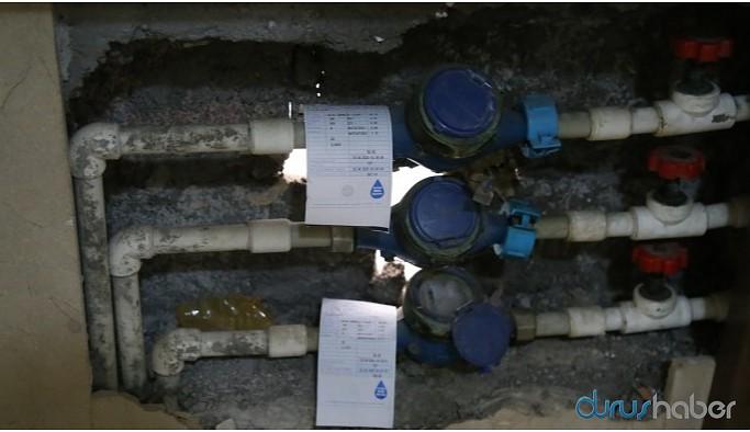 Kayyımın çifte zamlı ilk su faturaları kesildi