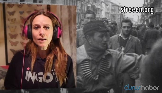 La casa de papel'in Raquel Murillo'su ile Kürt sanatçıdan 'Ciao Bella'