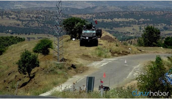 Lice kırsalında askeri operasyon başlatıldı
