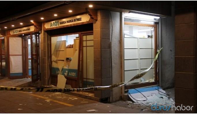 Markete EYP'li saldırı