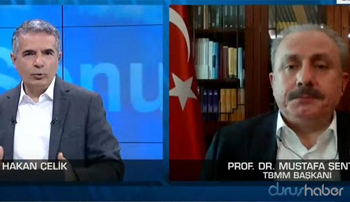 Meclis Başkanı Şentop koronavirüs vaka sayısını açıkladı