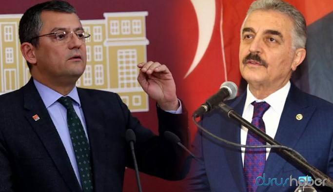 MHP Genel Sekreteri'nden CHP'li Özel'e tehdit