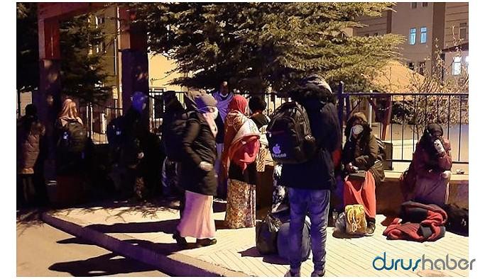 Bayburt Valiliği'nden mültecilere izin kağıdı: Çorum'a gidebilirler