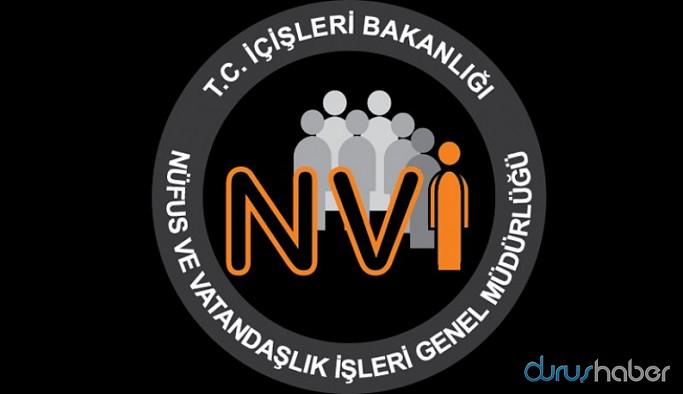 Nüfus ve Vatandaşlık İşleri Genel Müdürlüğü'nden açıklama: 11 Mayıs'a kadar durduruldu