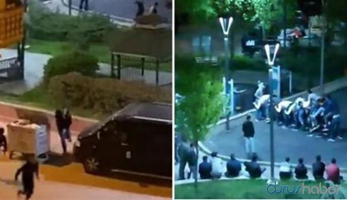 Parkta 'uzun eşek' oynayan 10 kişiye 31 bin 500 lira ceza