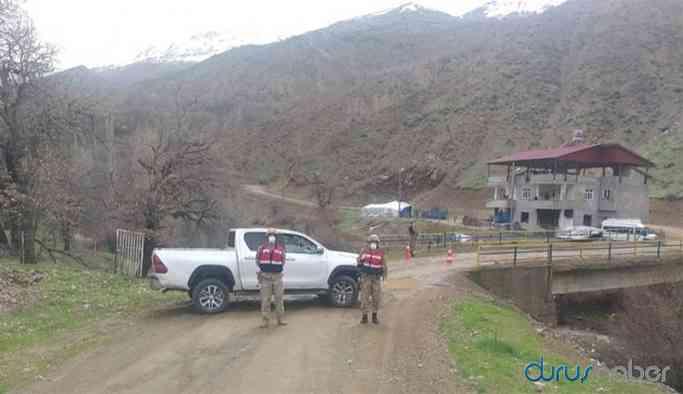 Siirt'te 2 köy ve 3 mezra karantinaya alındı