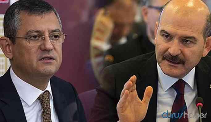 Bakan Soylu ile CHP'li Özel sosyal medyada birbirine girdi