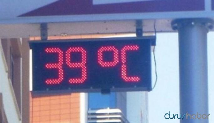 Sıcaklık 39 dereceye yükseldi, çocuklar dışarı çıkamadı
