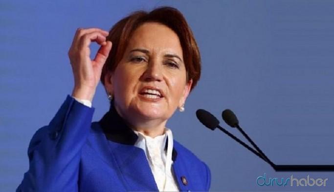 İYİ Parti lideri Akşener: O keneleri Erdoğan'ın sırtından atın