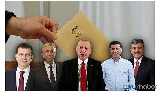 Cumhurbaşkanlığı anketi: İşte Erdoğan'a karşı öne çıkan isimler