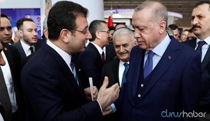 İmamoğlu'nun paylaşımına Erdoğan'dan gönderme