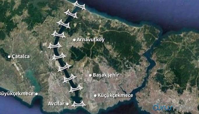 HDP dava açmıştı, Kanal İstanbul'da keşif yapılacak