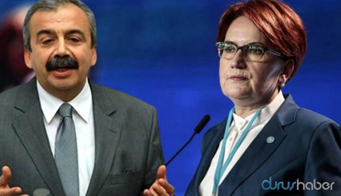HDP'li Önder'den İYİ Parti'ye yanıt: Aracılar kendini açıklayabilir