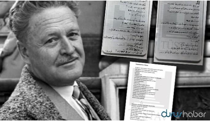 Nazım Hikmet'in 'İstanbul'da 1 Mayıs' şiiri ilk kez yayımlandı