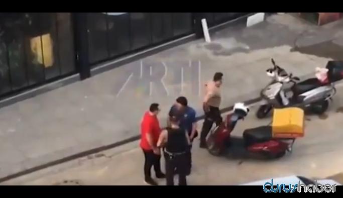 'Polis imdat' değil, 'İmdat polis' mi diyelim: Motokurye polis tarafından darp edildi
