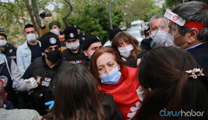Taksim'e çıkmak isteyen gruba polis müdahalesi: Çok sayıda gözaltı