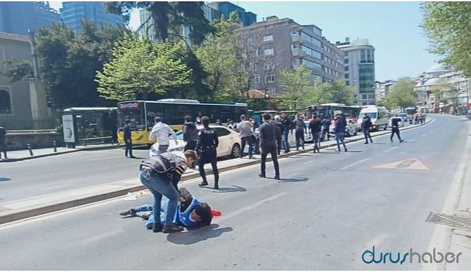 Taksim'e yürüyenler gözaltına alındı
