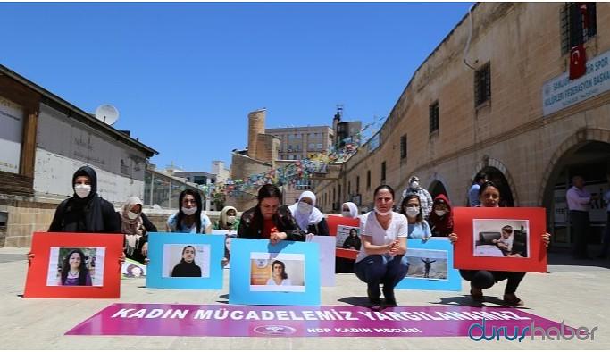 Tutuklanan kadınlar için protesto