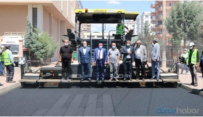 AKP İl Başkanı belediyenin çalışmalarını denetledi