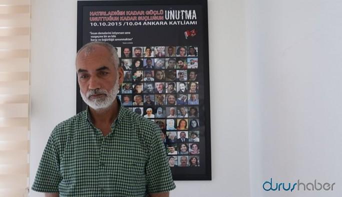 AKP'li vekil şikayet etti, Bakanlık Ankara Katliamında kızını kaybeden babaya soruşturma açtı