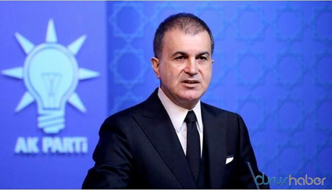 AKP Sözcüsü Çelik HDP'nin yürüyüşünü hedef gösterdi