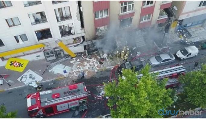 İstanbul'da korkutan patlama: 1 ölü, 10 yaralı