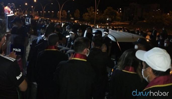 Baro başkanlarına yine polis müdahalesi