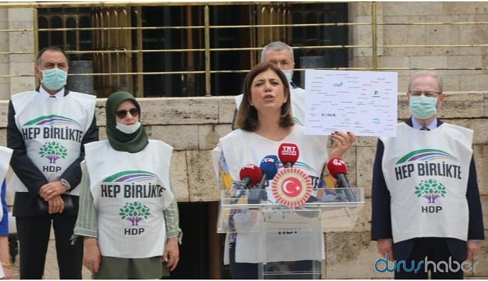 Beştaş: Medya ambargosunun amacı HDP'yi kriminalize etmek