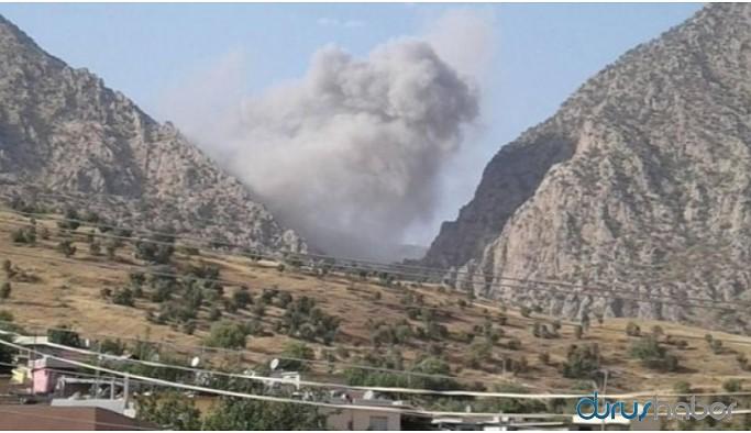 Bradost Bölgesi'ne de hava saldırısı