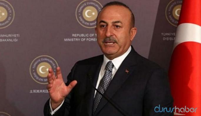 Dışişleri Bakanı Çavuşoğlu'ndan 'karantina' itirafı