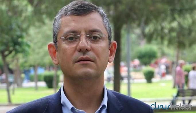 CHP'li Özel: AKP'nin önerileri, geçmişte yapılmak istenenin 50 kat beteri