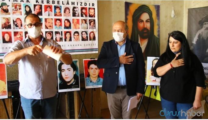 DAD Ankara Şubesi'nden Sivas Katliamı anması