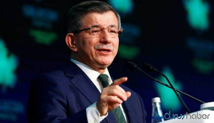 Davutoğlu'ndan Erdoğan'a tepki
