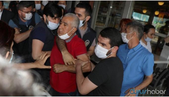 """""""Demokrasi yürüyüşü""""nün Edirne koluna polis müdahalesi: Çok sayıda gözaltı"""