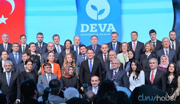 DEVA Partisi sahaya iniyor