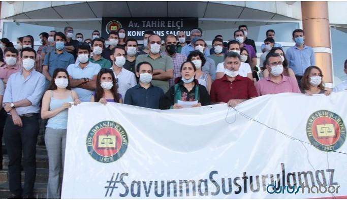 Diyarbakır Barosu oturma eylemini sonlandırdı