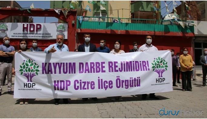 Eşbaşkan Zırığ'a 'kayyım açıklaması' soruşturması