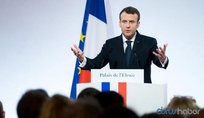 Fransa Cumhurbaşkanı Macron: Türkiye Libya'da tehlikeli bir oyun oynuyor