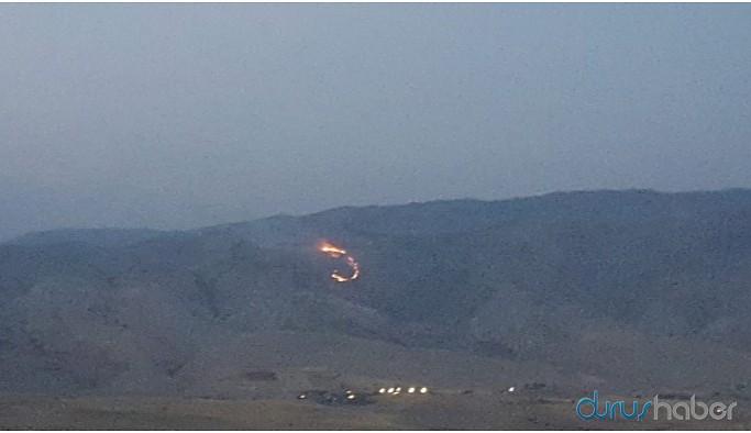 Gabar Dağı'nda yangın