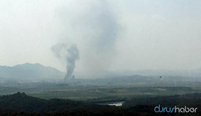 Güney Kore: Kuzey Kore iletişim ofisini havaya uçurdu