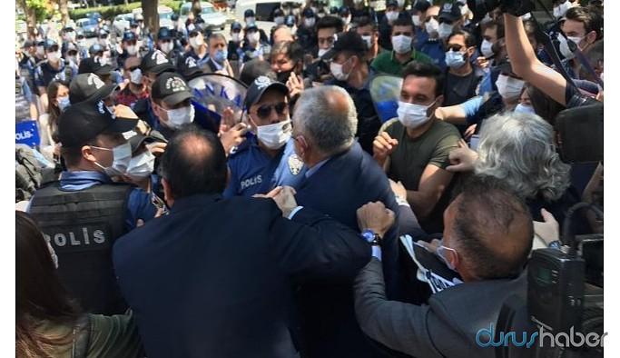 Güvenpark'a yürüyen HDP'li vekiller darp edildi