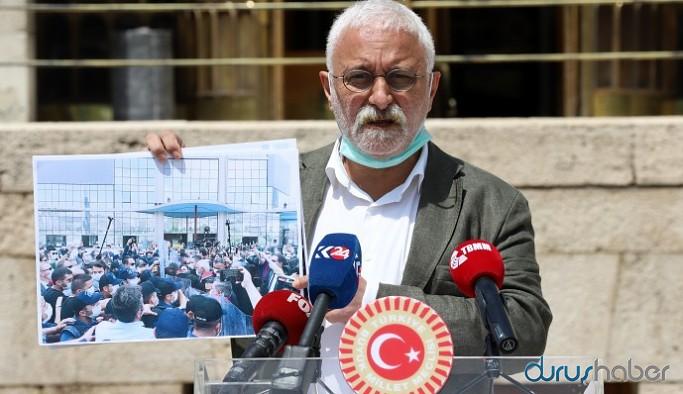 HDP Grup Başkanvekili Oluç: Adında adalet olan parti adalete saldırıyor