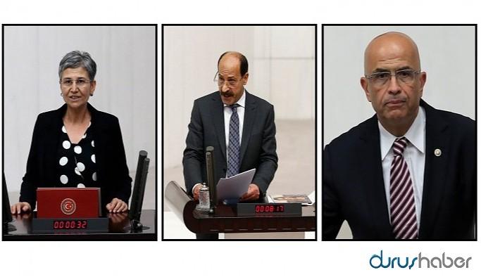 HDP ve CHP'li 3 ismin vekilliği düşürüldü