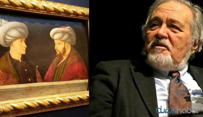 Tarihçi Profesör Ortaylı, portrede Fatih Sultan Mehmet'in karşısındaki ismi açıkladı