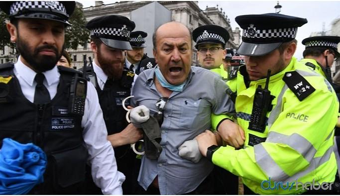 İngiltere'de TSK protestosu