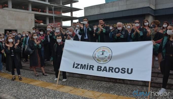 İzmir Barosu'ndan yürüyüş çağrısı: Yurttaşlarımızı da yanımızda görmek istiyoruz