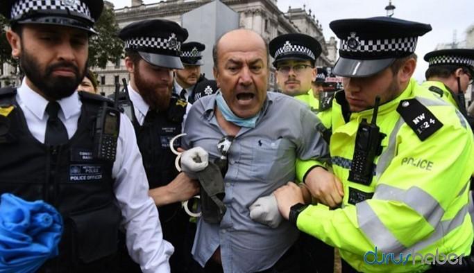 İngiltere Başbakanı Johnson'un aracını durduran Kurdi: Neden Türkiye'ye silah satıyorsunuz?