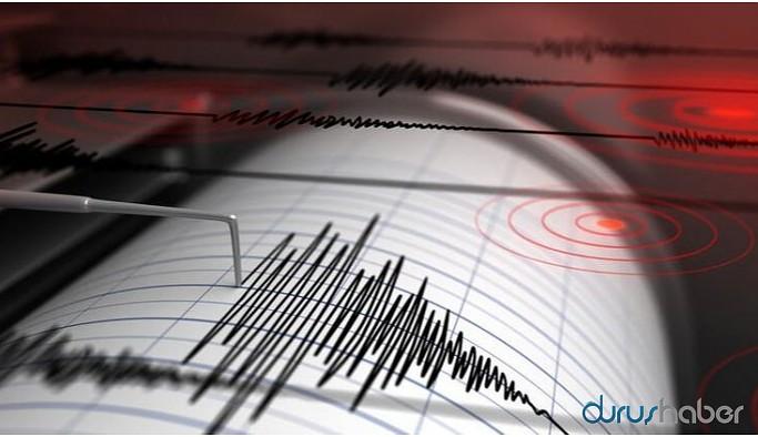 Marmaris'te 5,2 büyüklüğünde deprem